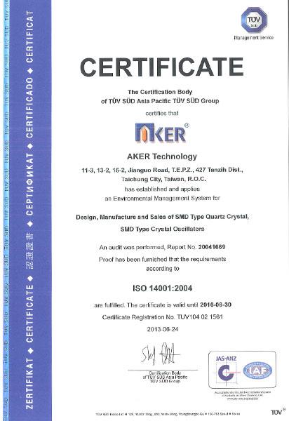 Certified Quality - Aker USA
